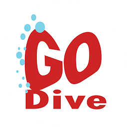 GO Dive – Diving School at Lake Geneva Logo